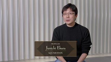 Junichi Ehara, le producteur de BABYLON'S FALL, assis.