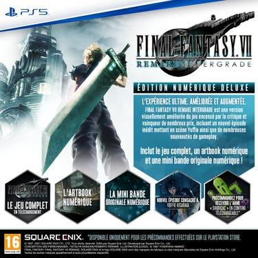 Pre-Order/ Digital Deluxe image  - FINAL FANTASY VII REMAKE INTERGRADE Digital Deluxe