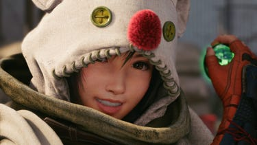 Close up of Yuffie