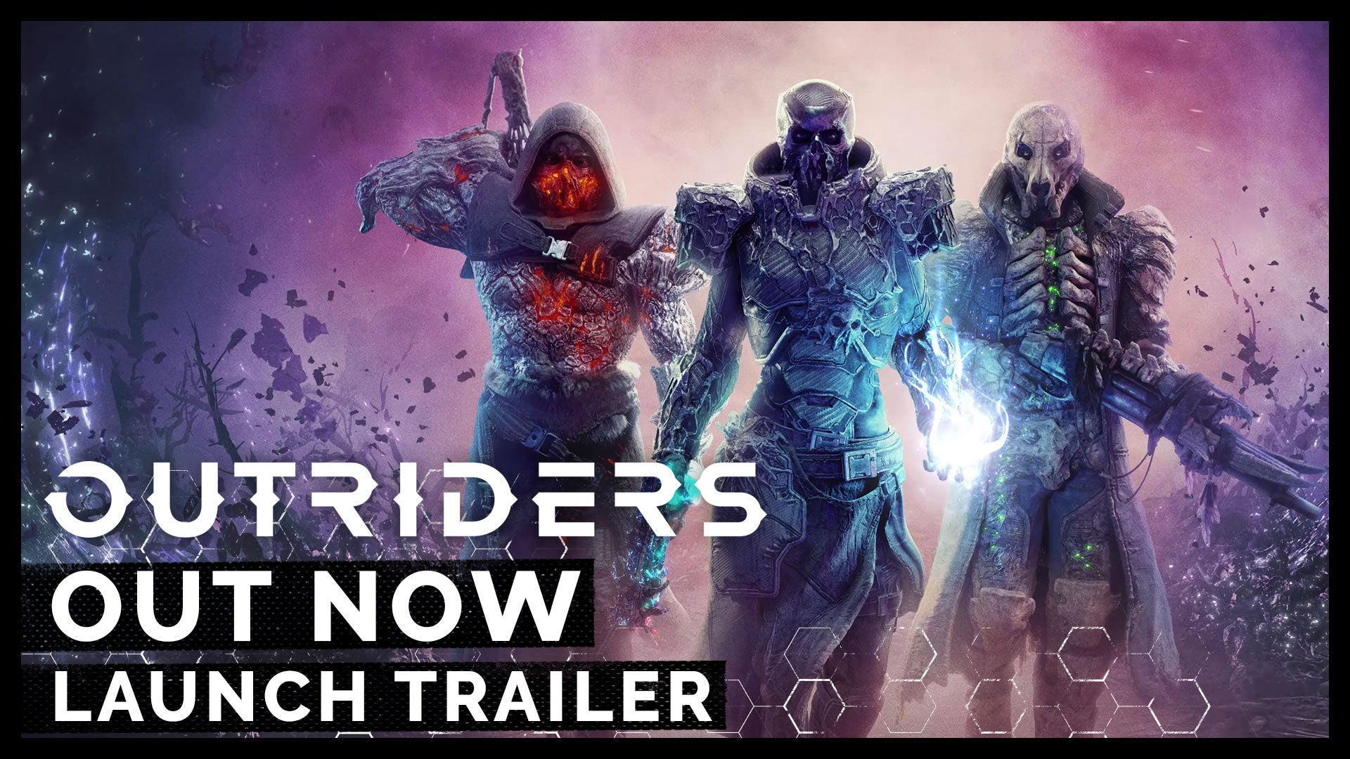 thumbnail for Outriders Launch Trailer