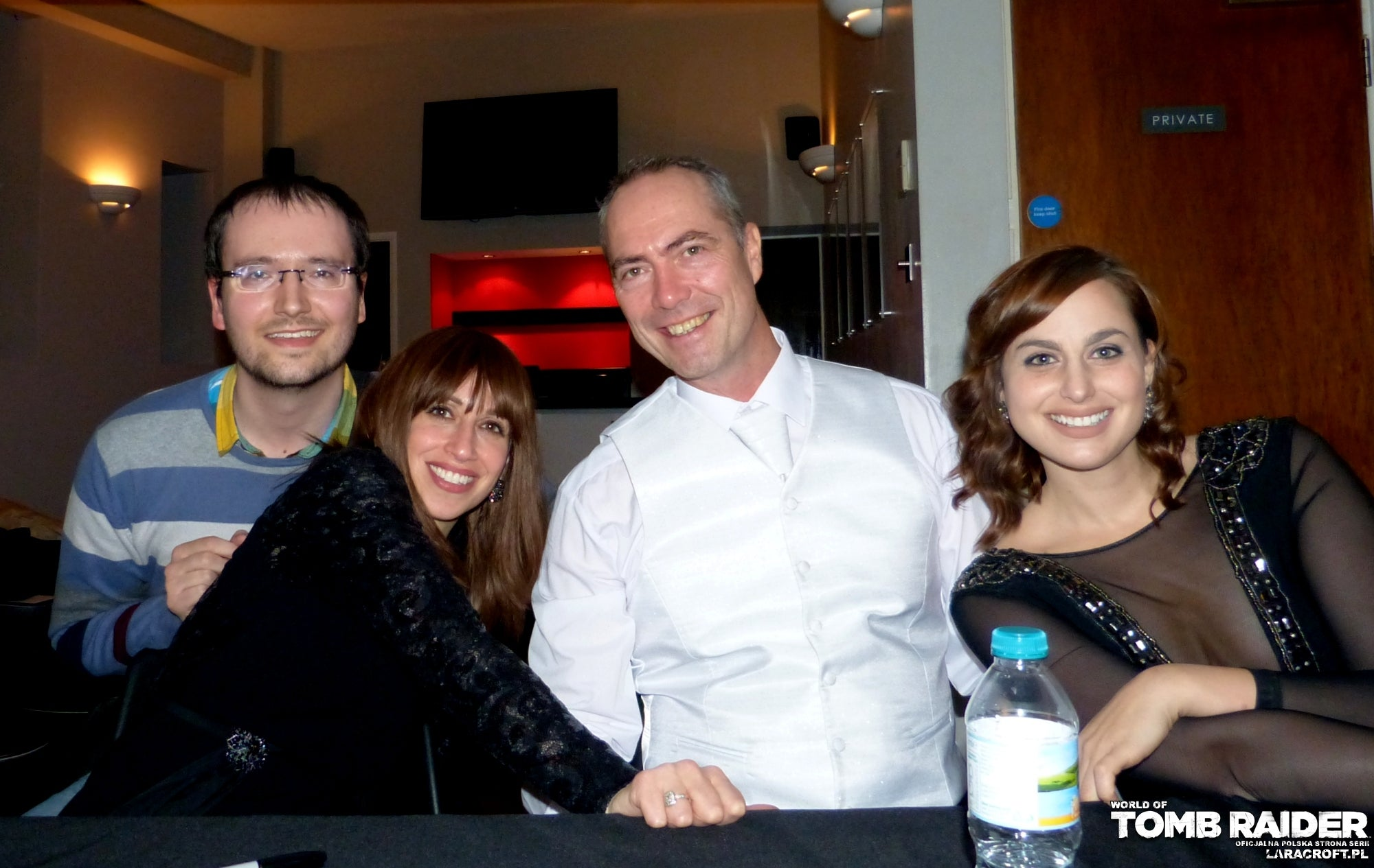 A photo of Bartosz, Shelley Blond, Nathan McCree, and Meagan Marie