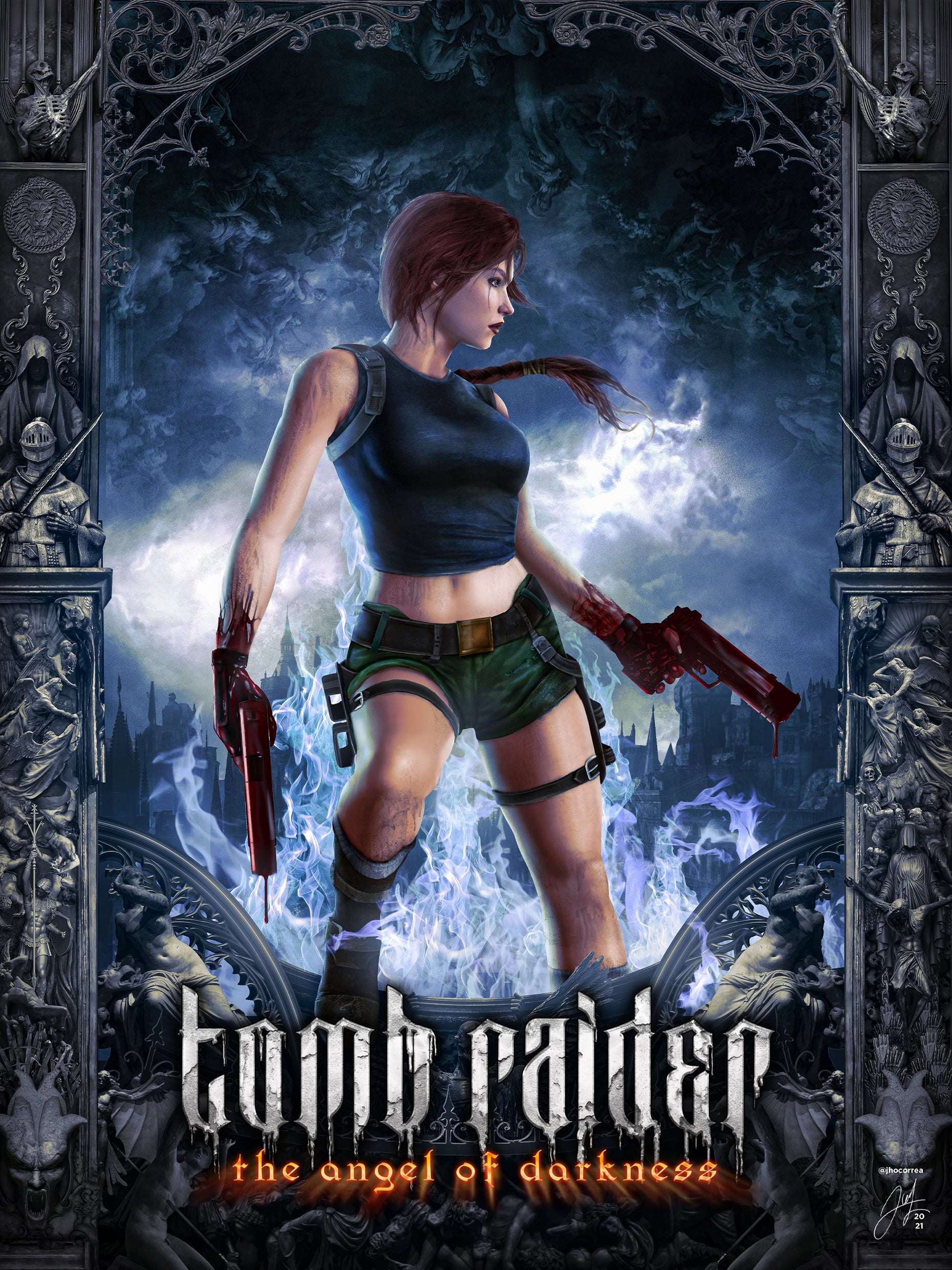 The full version of Tomb Raider fan and community member João's reimagined take on the Angel of Darkness box art