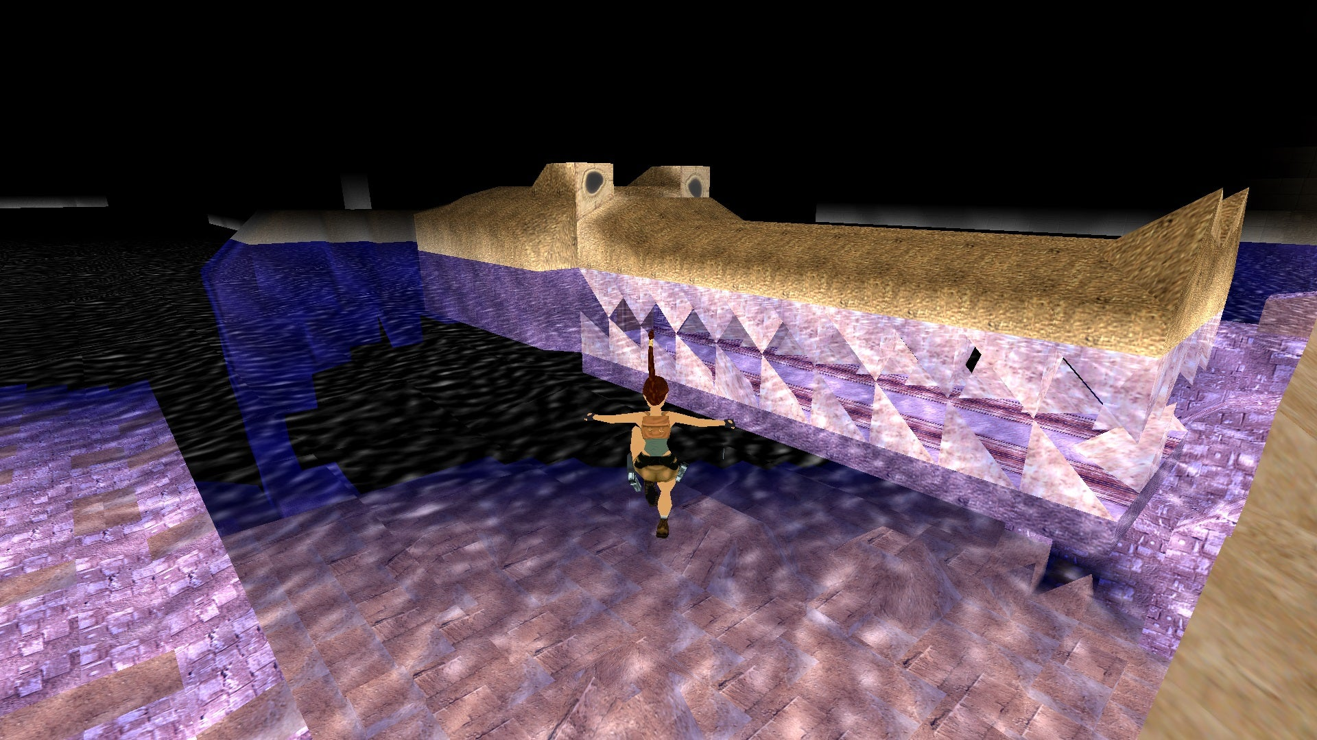 A screenshot from Tomb Raider Level Editor custom level Sobek's Sanctuary