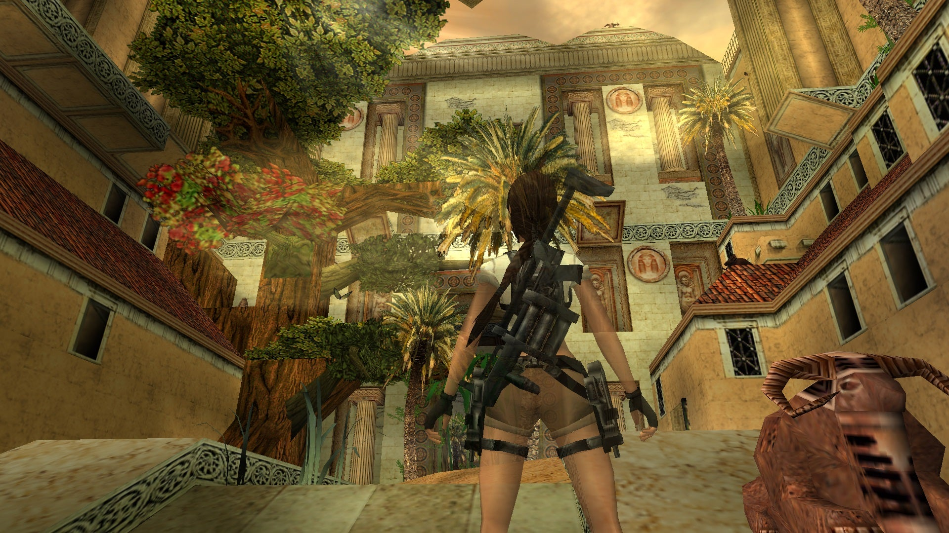 A screenshot from Tomb Raider Level Editor custom level Tears of the Ptolemaic Dynasty