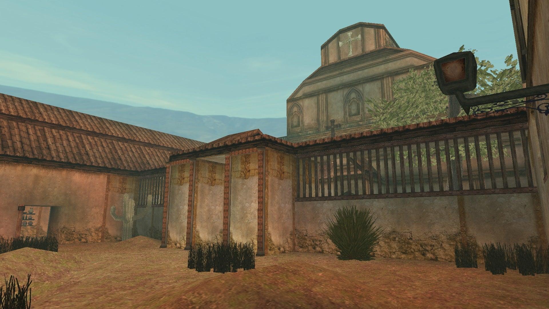 A screenshot from Tomb Raider Level Editor custom level Fading Light 2