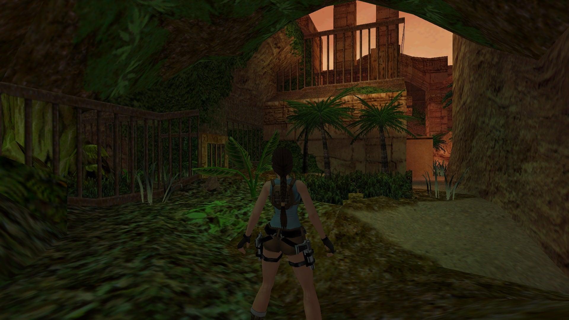 A screenshot from Tomb Raider Level Editor custom level The Last Day in Fayyum