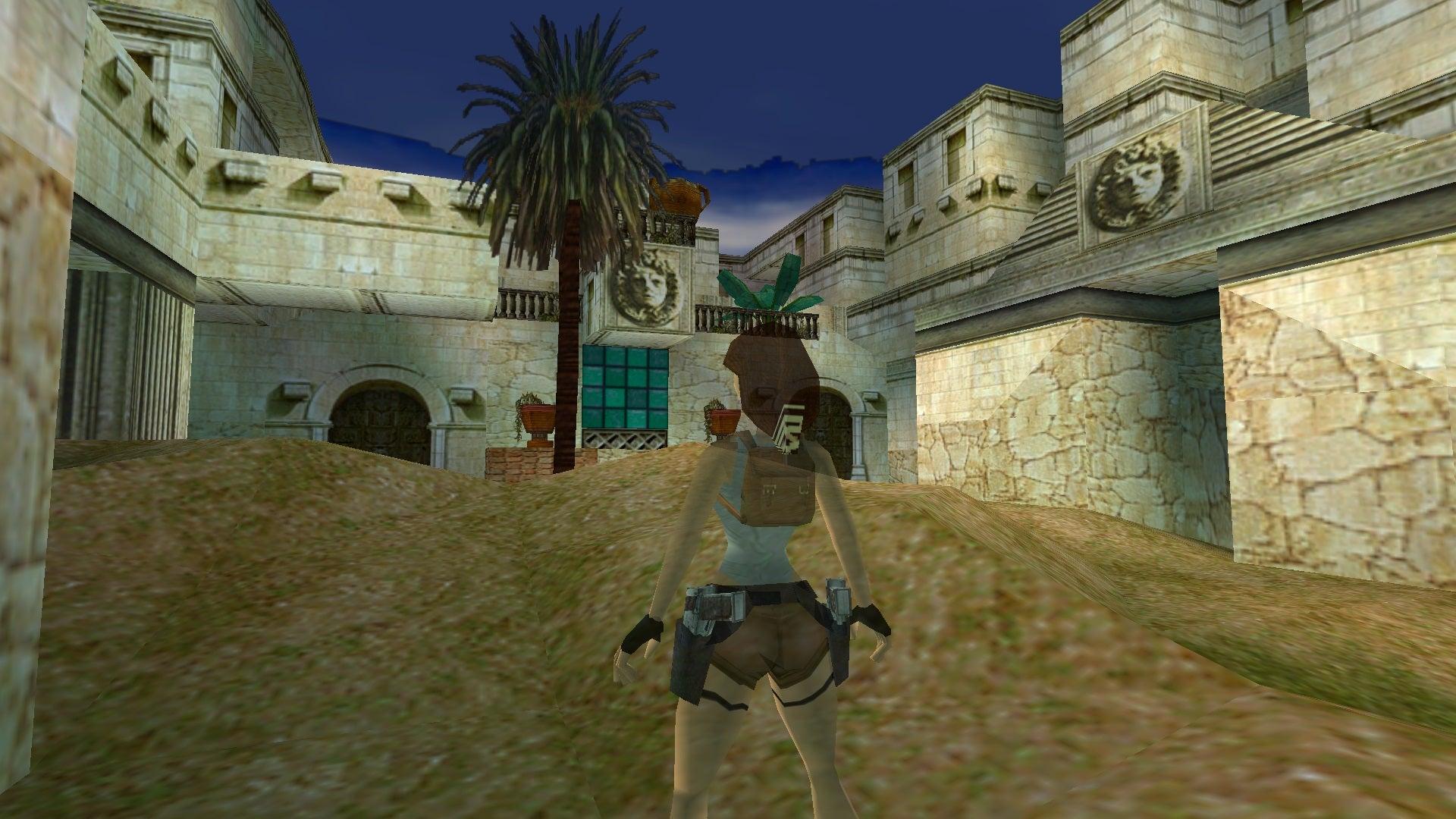 A screenshot from Tomb Raider Level Editor custom level Andrea's Sword 2