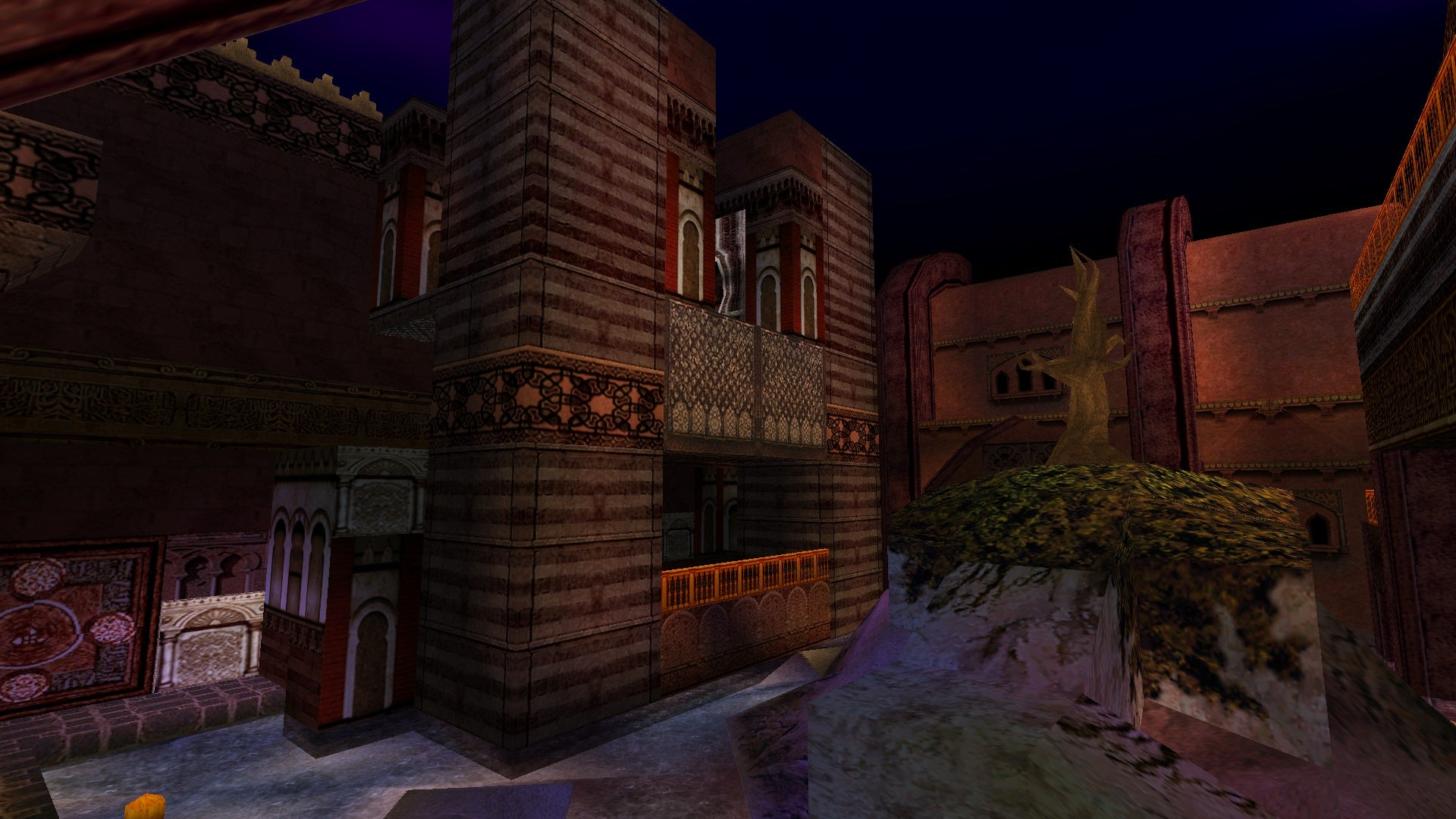 A screenshot from Tomb Raider Level Editor custom level Cordoba
