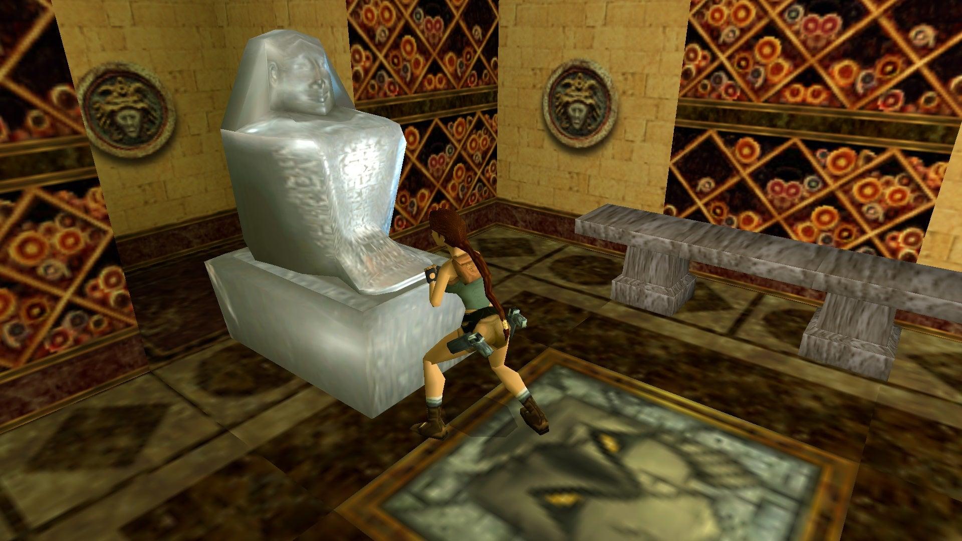 A screenshot from Tomb Raider Level Editor custom level The Ruins of Kaitelbu-Ra