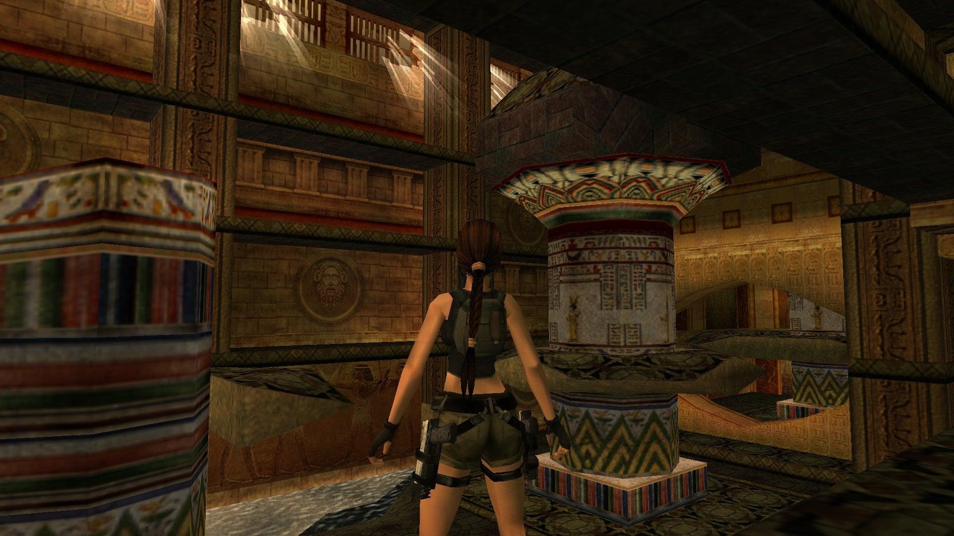 A screenshot from Tomb Raider Level Editor custom level Chosen