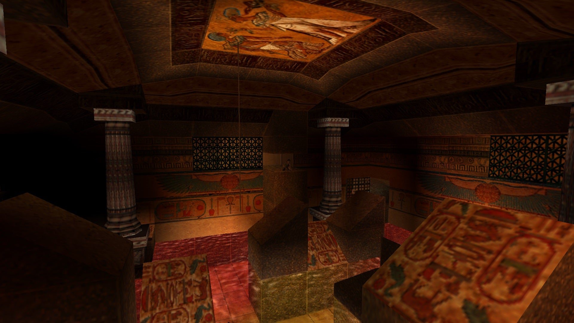 A screenshot from Tomb Raider Level Editor custom level Challenge of Ba
