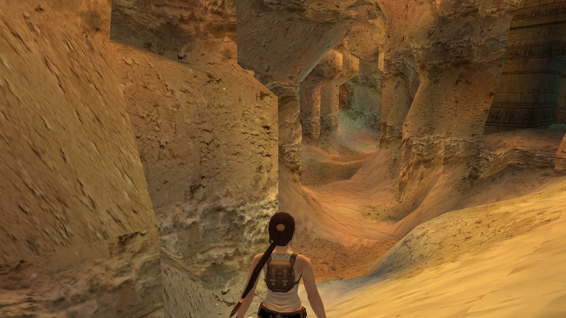 A screenshot from Tomb Raider Level Editor custom level Mystery of the Lost Pyramid