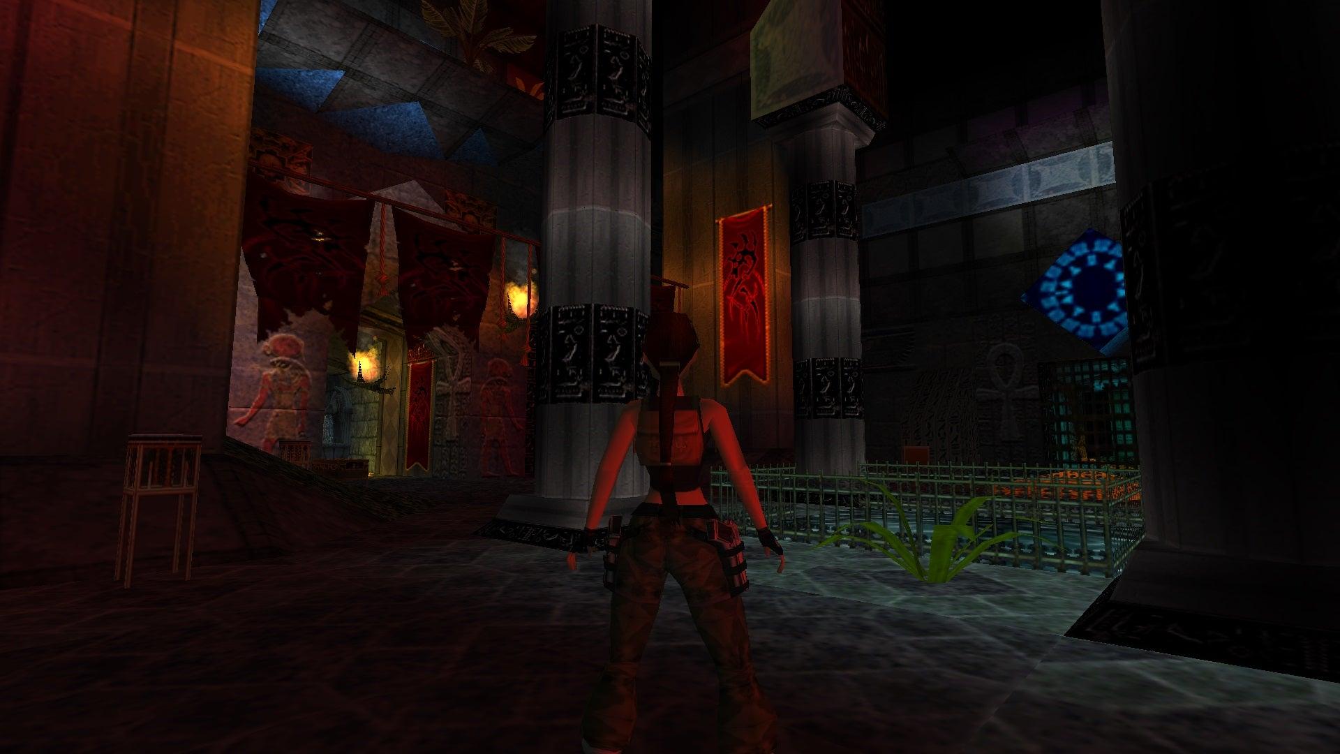 A screenshot from Tomb Raider Level Editor custom level The Castle of Corpus Fatalis