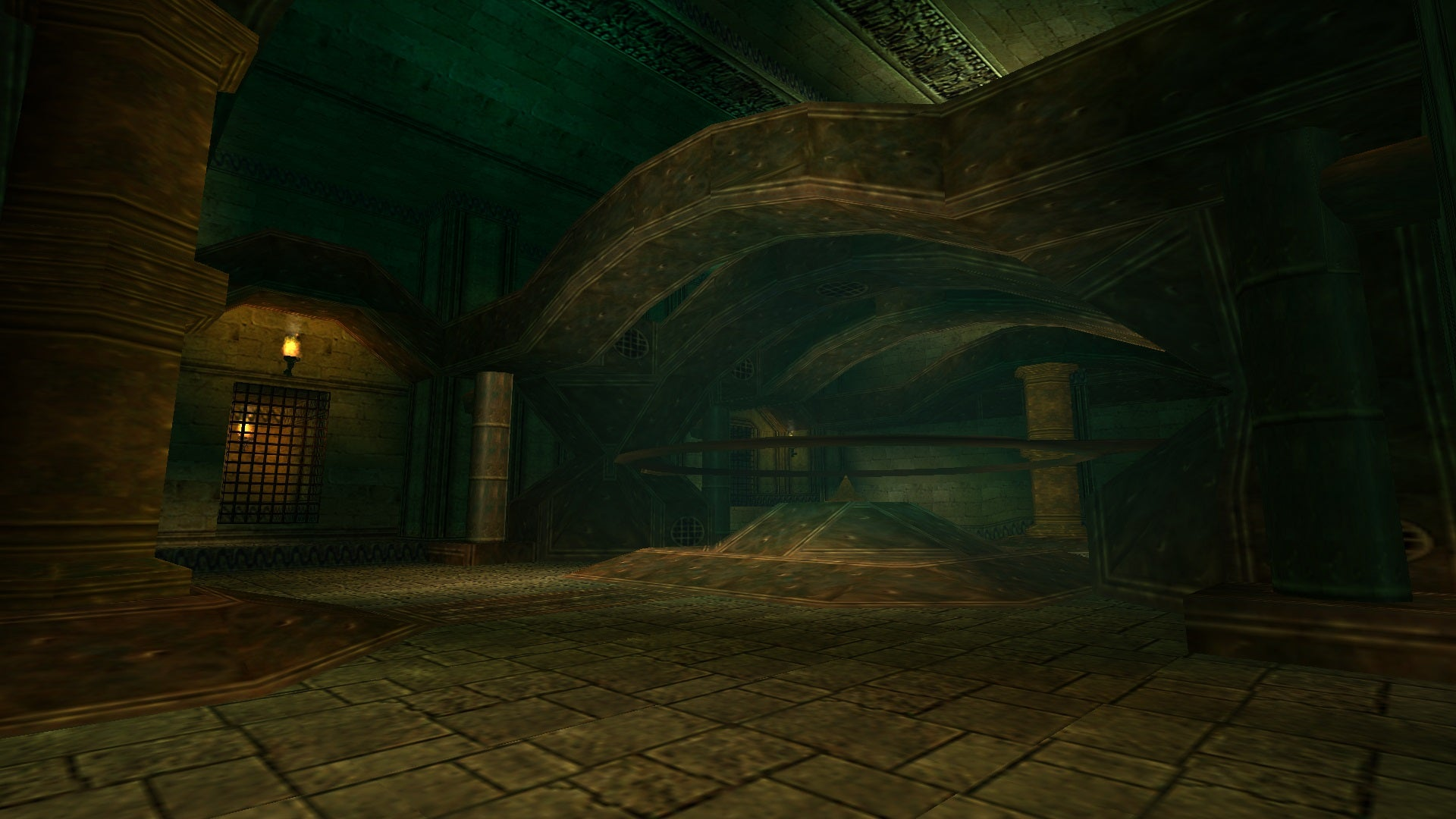 A screenshot from Tomb Raider Level Editor custom level Search for the Mystic Stones