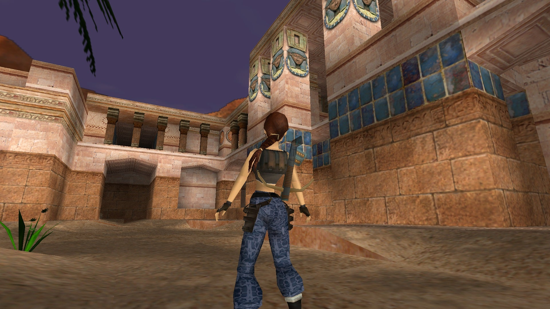 A screenshot from Tomb Raider Level Editor custom level Isle of the Sun Part 2