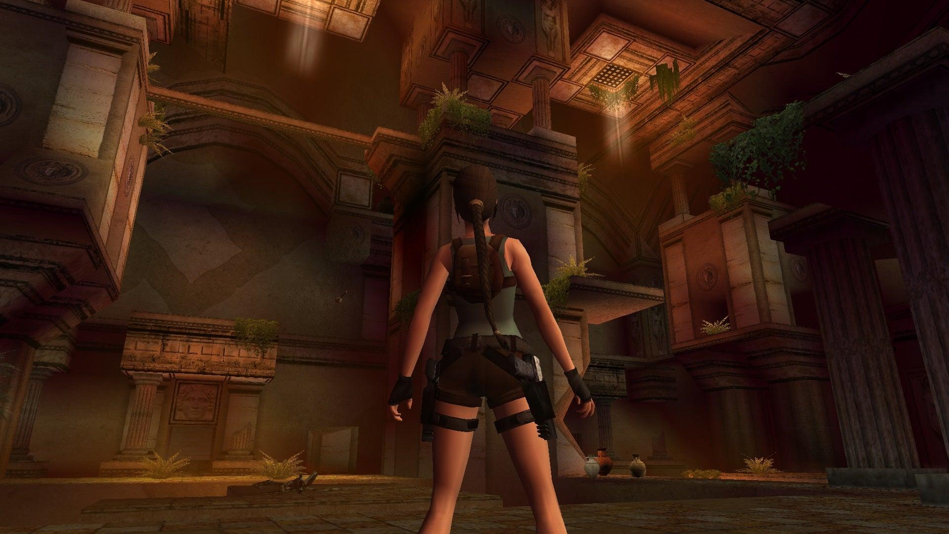 A screenshot from Tomb Raider Level Editor custom level The Sanctuary of Light 1