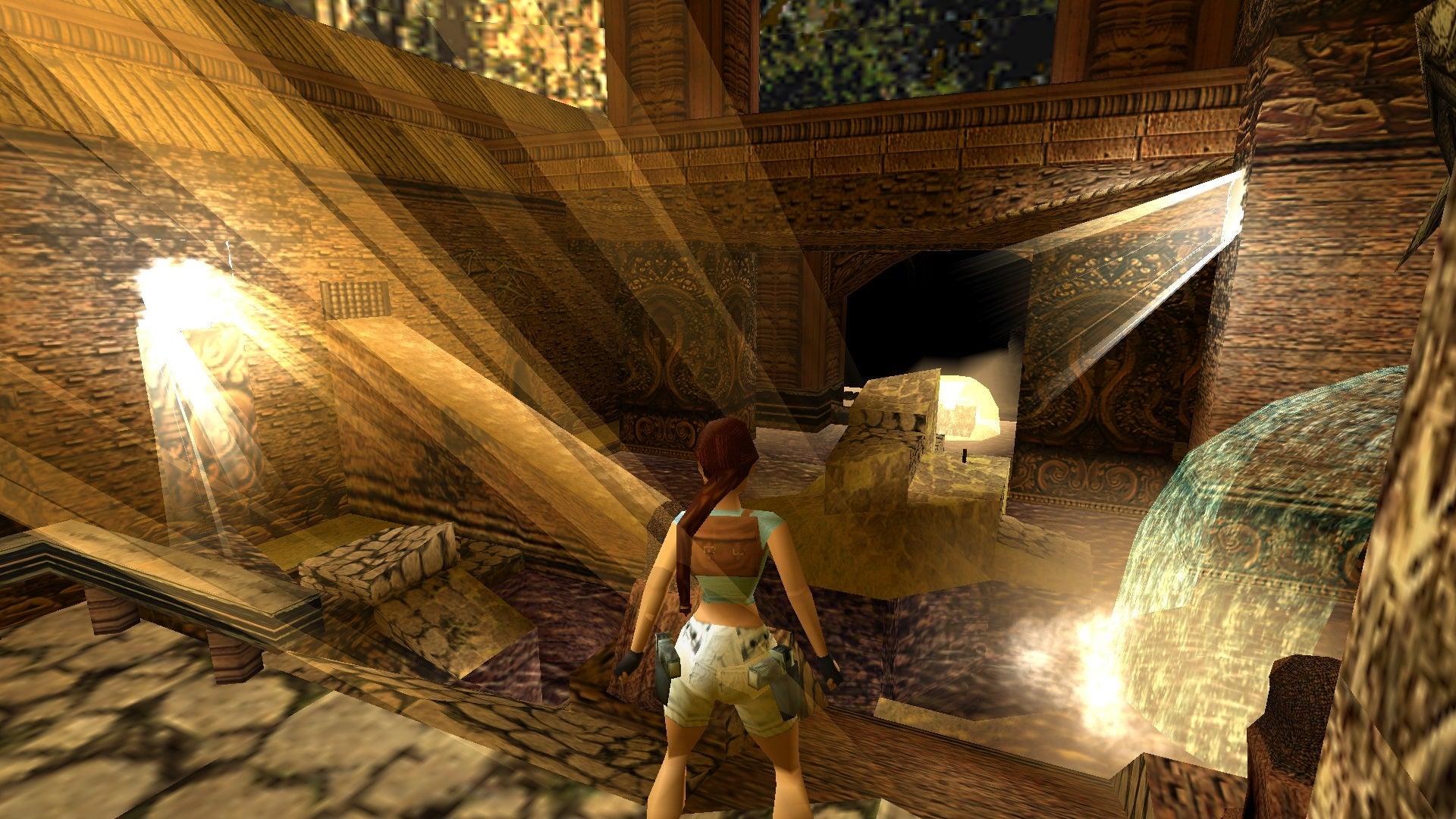 A screenshot from Tomb Raider Level Editor custom level Return to Jazimiya