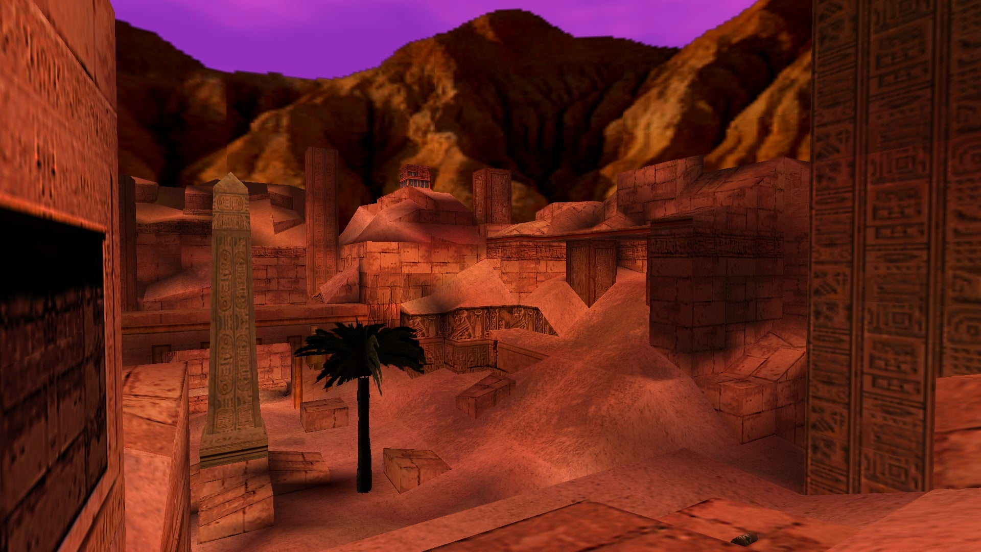 A screenshot from Tomb Raider Level Editor custom level Archaeological Site