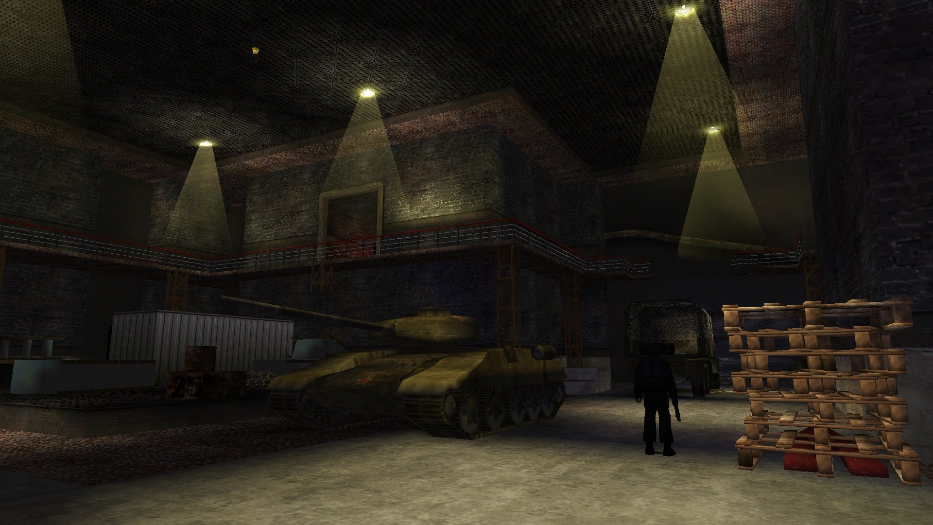 A screenshot from the Tomb Raider custom level called Search for The Golden Elephant Part 3