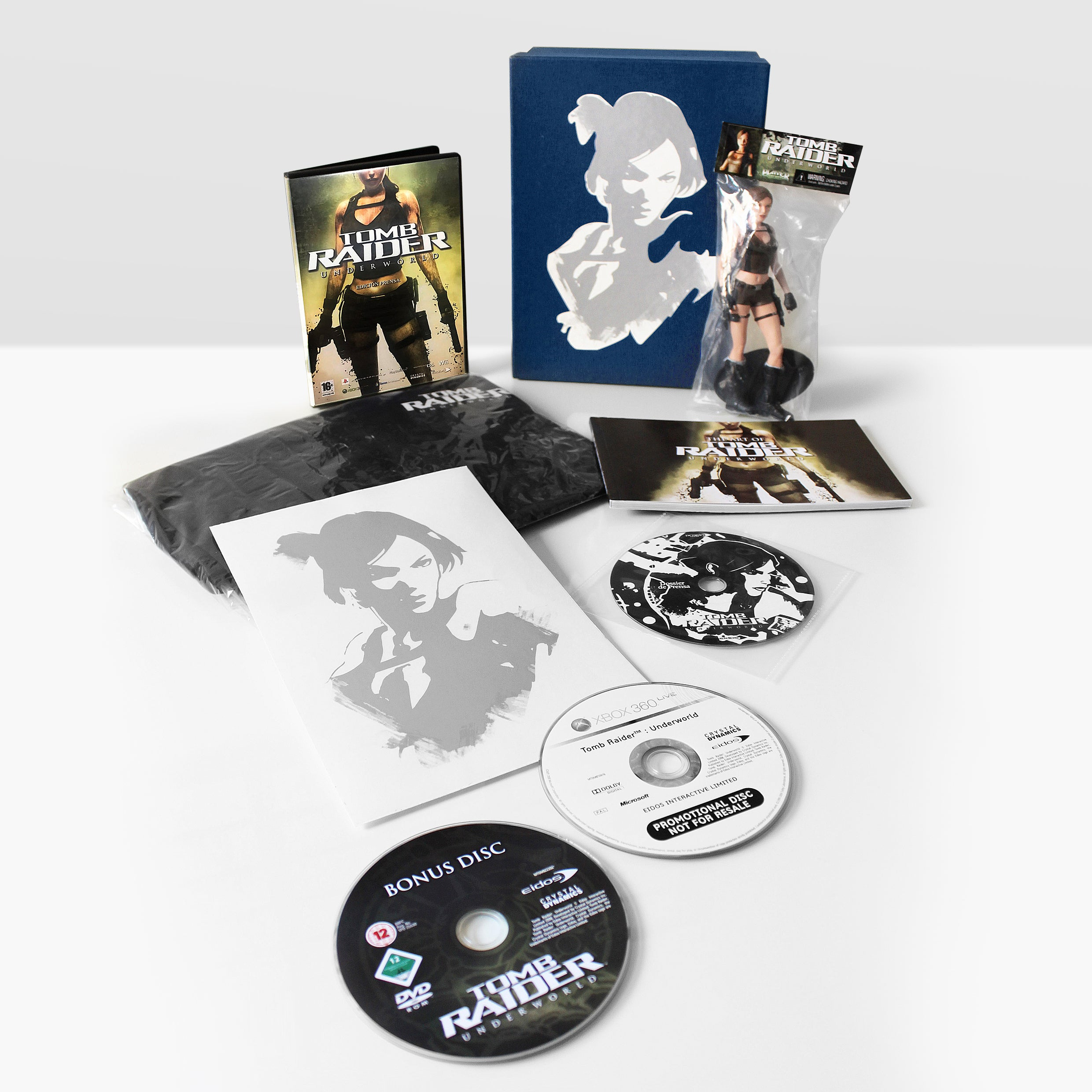 The official Tomb Raider: Undeworld press pack