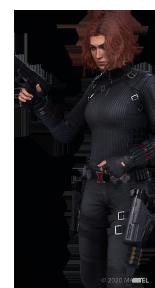 Black Widow Souvenir - Emote