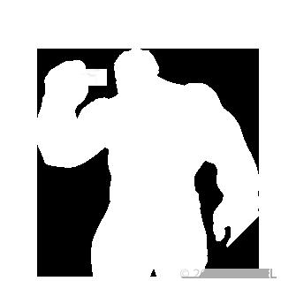Hulk - Spectacles - Emote