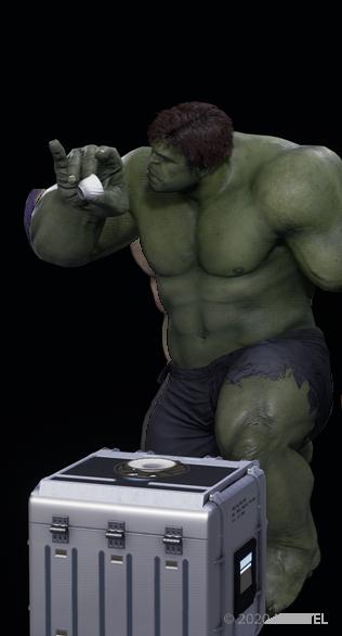 Hulk Tea Time - Emote