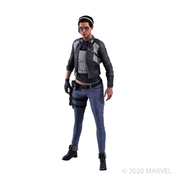 Kate Bishop - Grayscale - Outfit