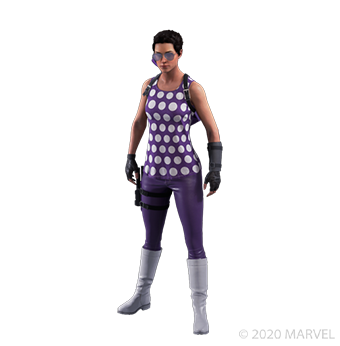Kate Bishop - Retro - Outfit