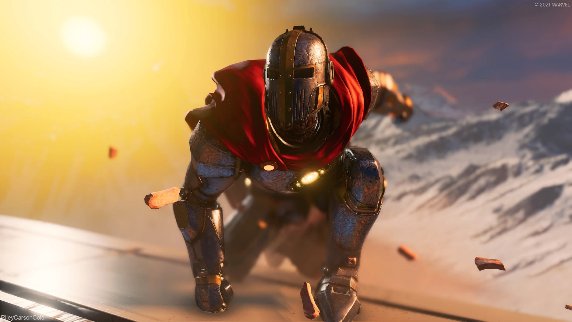 Iron Knight landing. Digital Photography by RileyCarsonCola