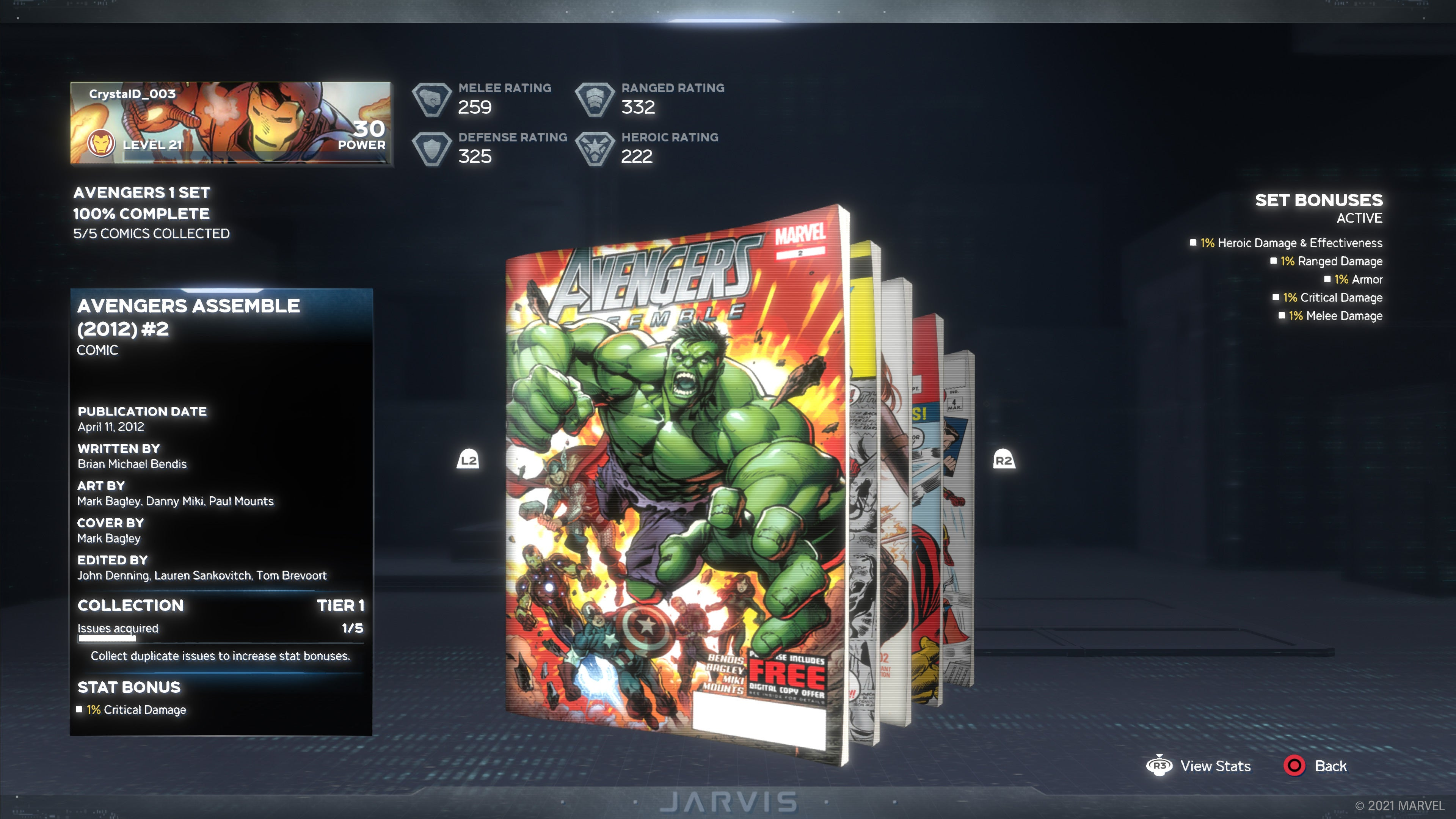 Weekly First Completion Reward: Avengers Assemble (2012) #2
