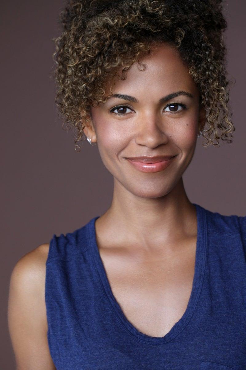 A headshot of Erica Luttrell who plays Shuri in War for Wakanda.