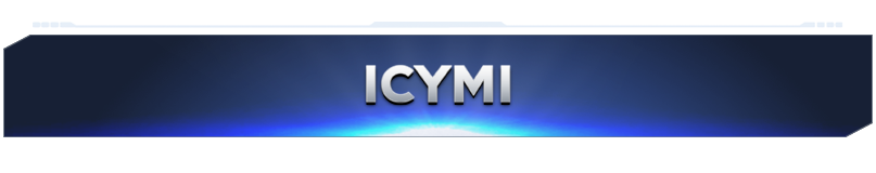 """A simple banner that reads """"I C Y M I"""""""