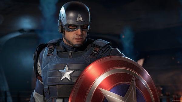 Captain America Headshot